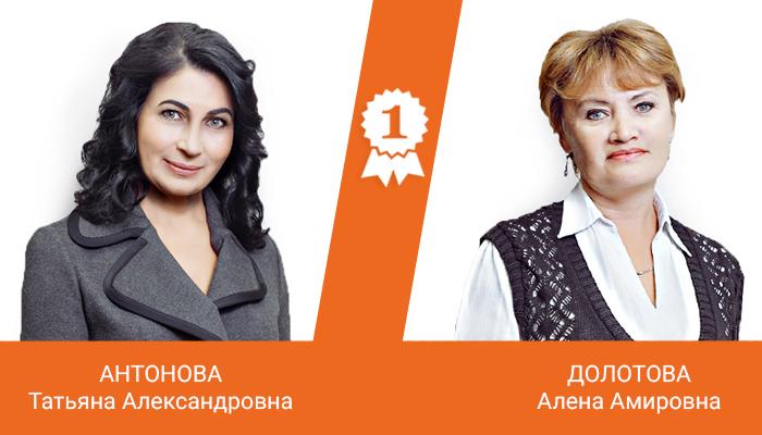 Антонова Татьяна Александровна, Долотова Алена Амировна
